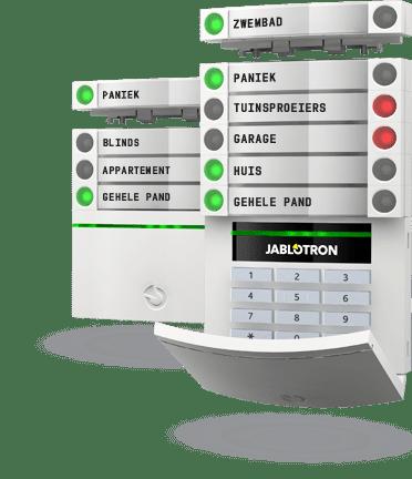 Alarmsysteem van Jablotron Slim Beveiligd